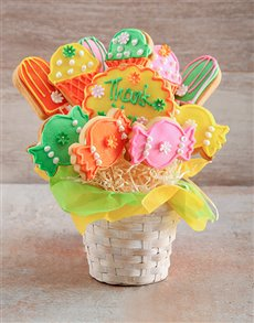 bakery: Thank You Treats Cookie Bouquet!
