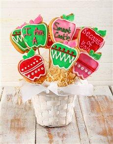 bakery: Smart Cookie Cookie Bouquet!