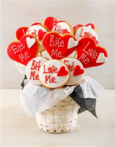 bakery: Bite Me Cookie Bouquet!