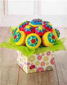 bakery: Well Done Cupcake Bouquet !
