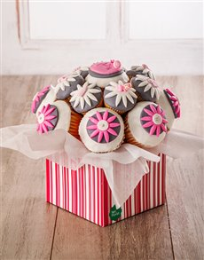 bakery: Welcome Baby Girl Cupcake Bouquet !