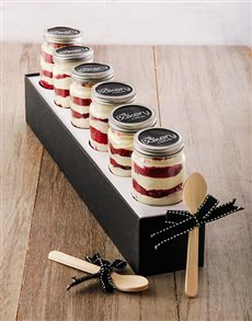 gifts: Red Velvet Cupcake Jar Combo!