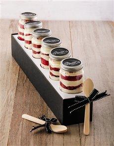 bakery: Red Velvet Cupcake Jar Combo!