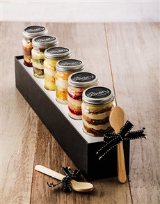 bakery: 6 Sunshine in a Box Cupcakes in a Jar!