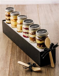bakery: 6 Have Your Cake Cupcakes in a Jar Combo!