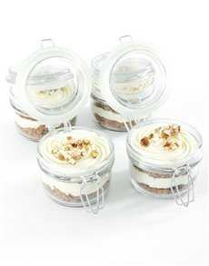 bakery: Carrot Cake Cupcakes in a Jar!