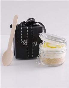 bakery: Single Lemon Cheesecake in a Jar!
