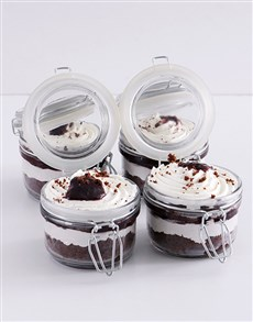 bakery: Black Forest Cupcake Jars!