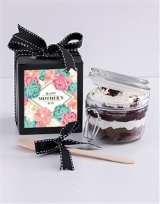 bakery: Mothers Day Black Forest Cupcake Jar!