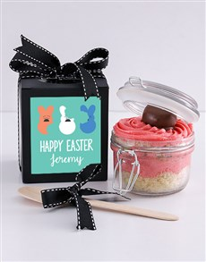 bakery: Personalised Speckled Egg Marshmallow Cupcake Jar!