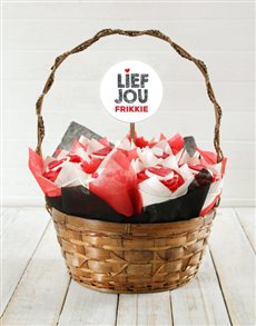 bakery: Personalised Lief Jou Cupcake Bouquet!