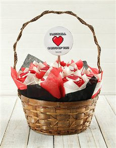 bakery: Personalised Love Bits Cupcake Bouquet!