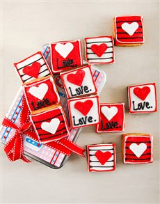 bakery: Love Cookie Tin!