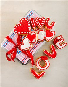 bakery: Sweet Love Cookie Tin!