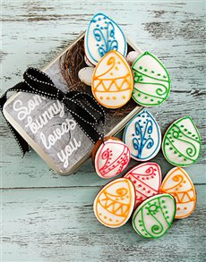 bakery: Easter Chocolate Cookie Tin!