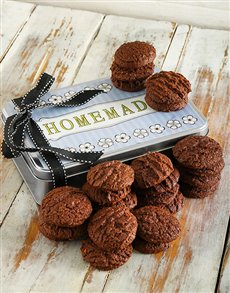 bakery: Crunchy Double Chocolate Cookie Tin!