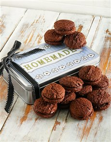bakery: Chocolate, Hazelnut and Coffee Cookie Sandwich Tin!