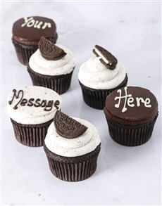 bakery: Cookies and Cream Cupcakes!