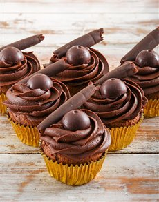 gifts: Dark Chocolate Lindt Cupcakes!