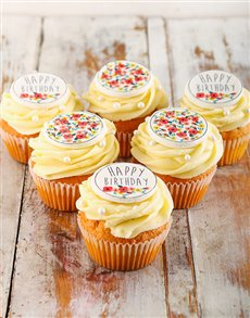 gifts: Happy Birthday Cupcakes for Her!