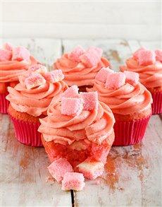 bakery: Coconut Ice Pinata Cupcakes!