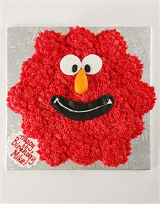 bakery: Elmo Pull Apart Cupcake Party Cake!