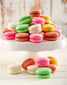 Rainbow Temptation Macaroon Combo Box