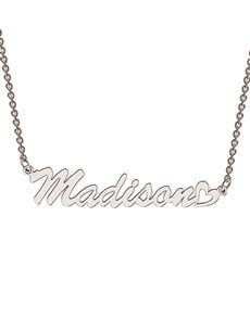 jewellery: Memi Classic Sterling Silver Personalised Necklace!