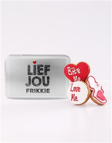 bakery: Personalised Lief Jou Cookie Tin!