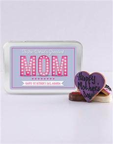 bakery: Personalised Greatest Mom Treat Tin!