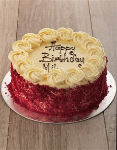 gifts: Red Velvet with Cream Cheese Icing!