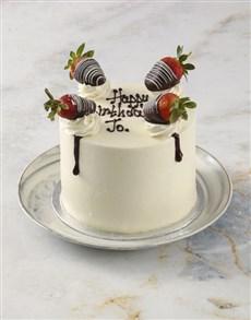 bakery: Strawberries and Cream Cake!