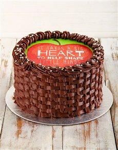 gifts: Teachers Day Chocolate Cake!