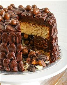 bakery: Chocolaty Chocolate Pinata Cake 20cm!