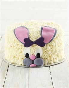 bakery: Easter Bunny Red Velvet Cake!