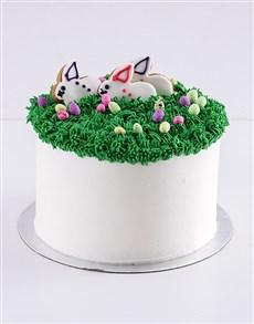 bakery: Easter Bunny Marshmallow and Vanilla Cake!