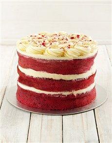 bakery: Red Velvet Naked Cake!