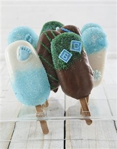gifts: Baby Boy Cakes on a Stick!