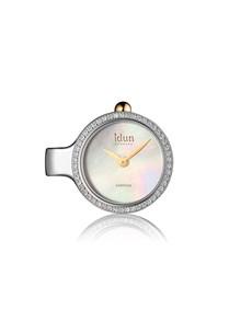 jewellery: Idun Denmark Two Tone Pendant Charm Watch!