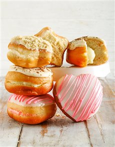 gifts: Creamy Cloud Filled Doughnuts !