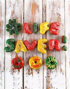 bakery: Life Saver Mini Letter Doughnuts!