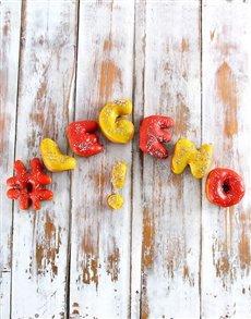 bakery: Legend Mini Doughnut letters!