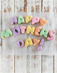 bakery: Mothers Day Doughnut Letters!