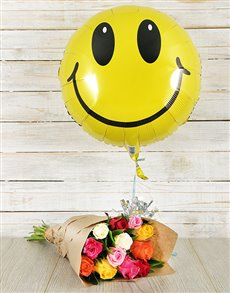 flowers: Smiley Mixed Bouquet!