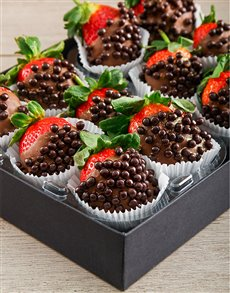 bakery: Chocolate Whispers Dipped Strawberries!