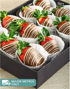 gifts: Milk Stripy Strawberries!