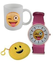 jewellery: Emoji Wink Tongue Watch and Mug Gift !