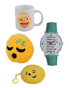 gifts: Emoji Weekday Smiley Gift Set!