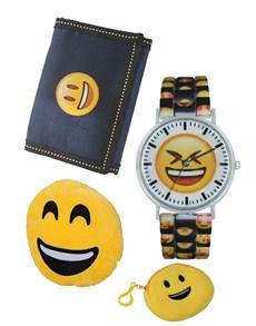 jewellery: Emoji Smile Watch Gift Set!