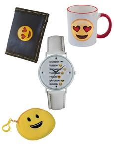 jewellery: Emoji Weekday Watch and Wallet set!